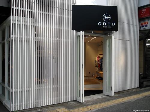 Cred Tokyo – New Tokyo Shop