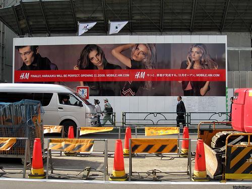 H&M: Finally, Harajuku Will Be Perfect