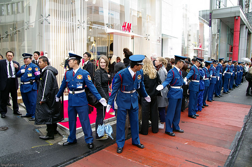 H&M Harajuku Opening Day Photos