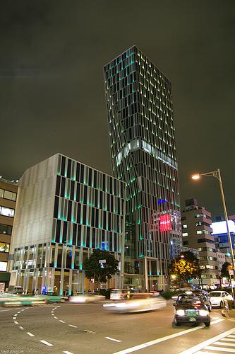 Kinokuniya Aoyama in the AO Building