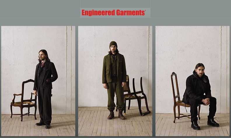 Engineered Garments Fall/Winter 2008
