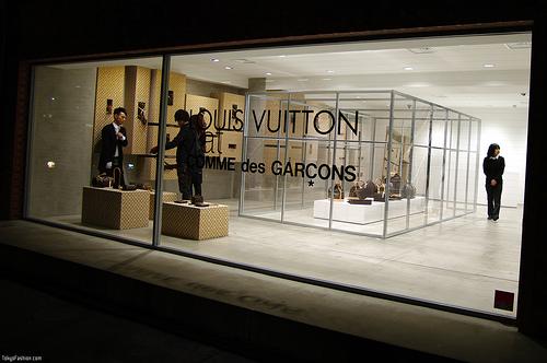 Louis Vuitton x Comme des Garcons Tokyo Shop