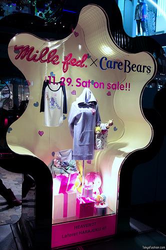 MilkFed x Care Bears Japanese Fashion