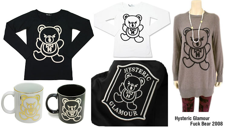 Hysteric Fuck Bear Collection 2008
