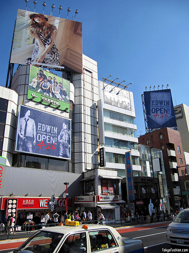 Edwin New Harajuku Shop Coming Soon