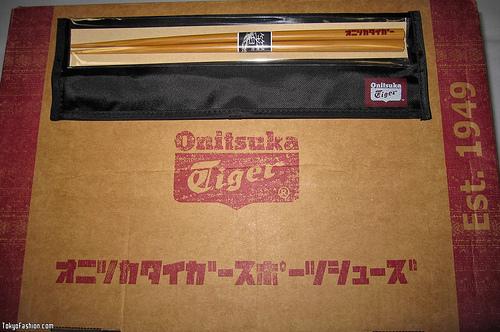 Free Onitsuka Tiger Chopsticks at TipTop Shibuya