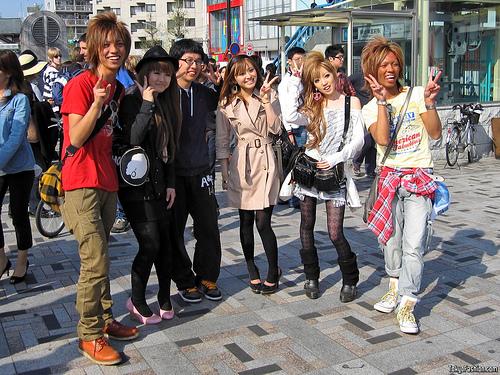Harajuku Street Fashion 2009