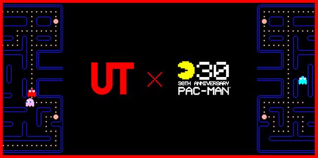 Pac-Man T-shirts Project at UT Harajuku