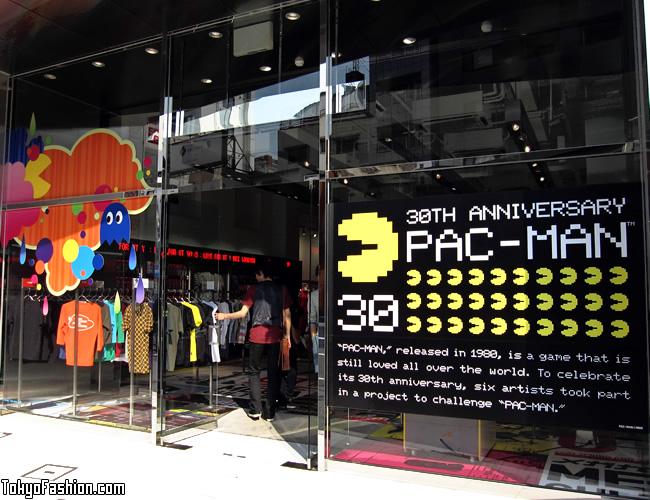 UT Harajuku Shop Window