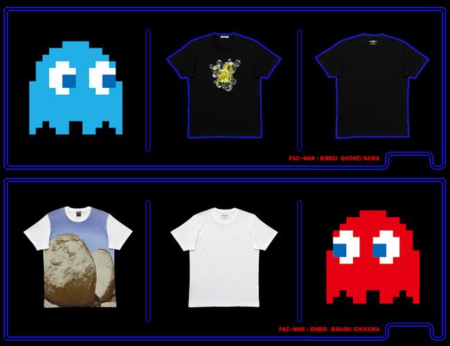 Japanese Pac-Man T-Shirt Designs