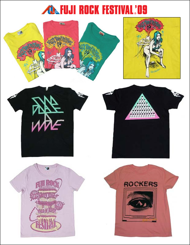 e584b3dcd Fuji Rock 2009 T-Shirts at Parco