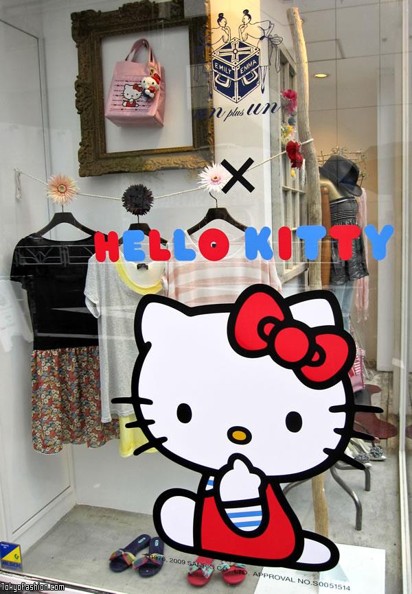 Hello Kitty on Cat Street