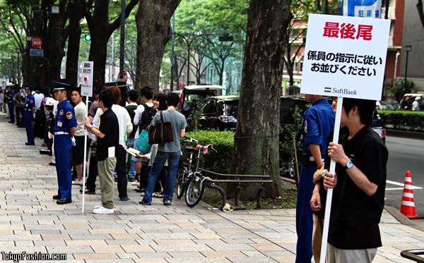iPhone 3GS Tokyo Launch Photos