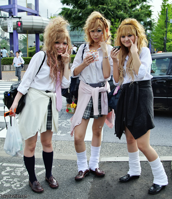 Japanese Loose Socks School Girls
