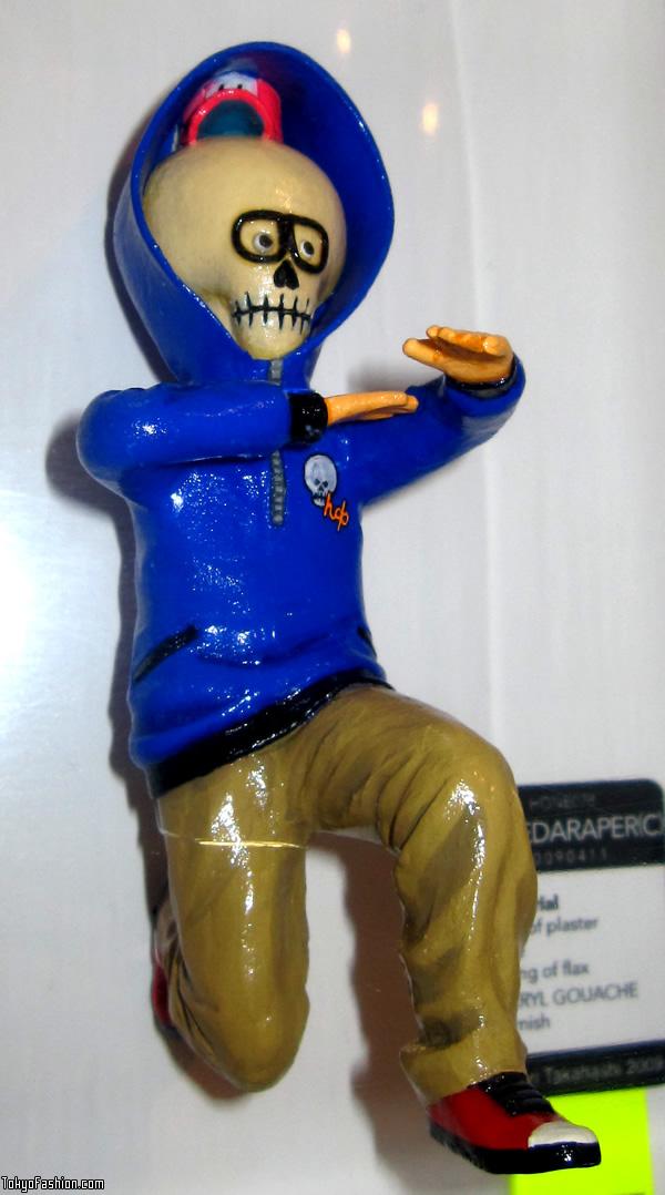 Skull Faced Figure