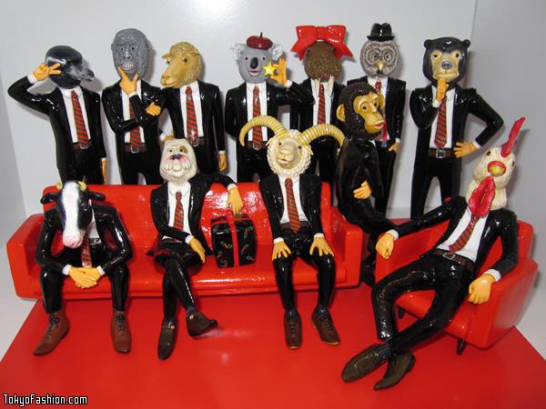 Kaori Takahashi Animal Figures