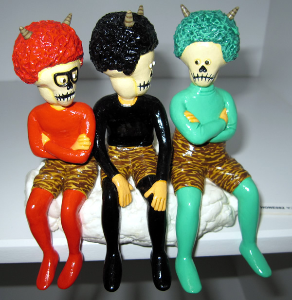 Colorful Skull Devils