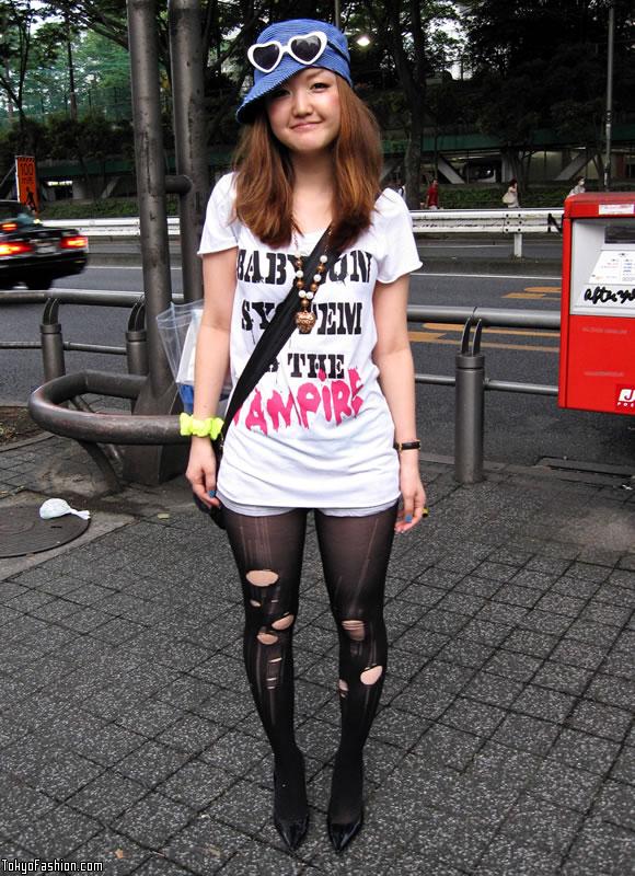 Shibuya Heart Sunglasses Girl