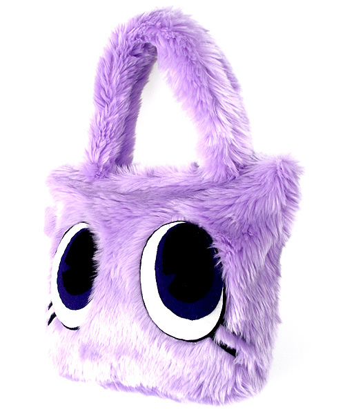 Candy Stripper Eye Ball Monster Bag