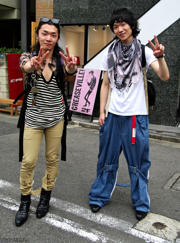 Two Fashionable Harajuku Guys