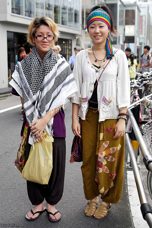 Harajuku Hippie Style Street Fashion