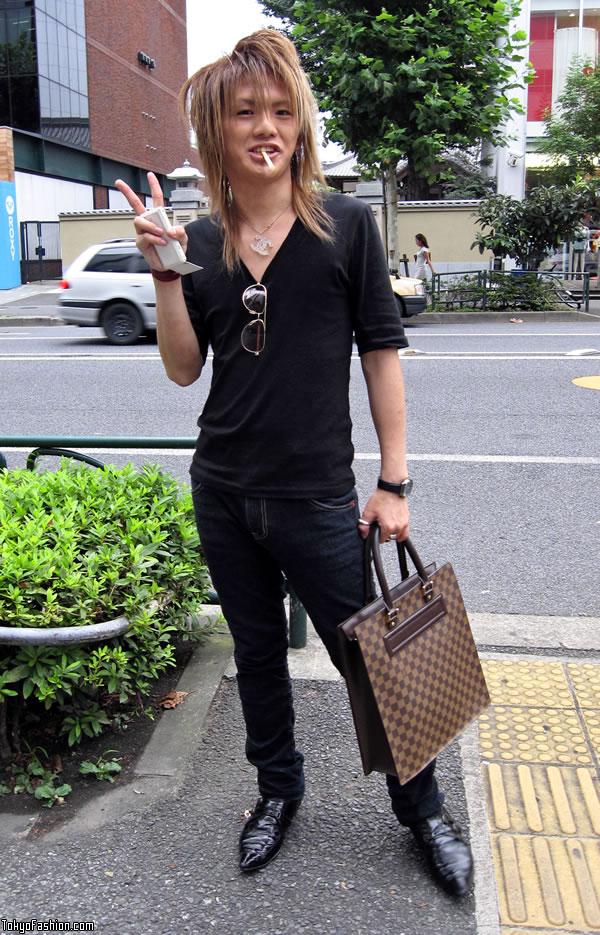 Smoking Chanel Guy in Harajuku