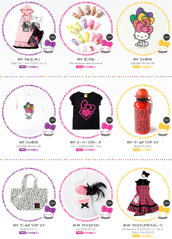 Hello Kitty Japanese Fashion