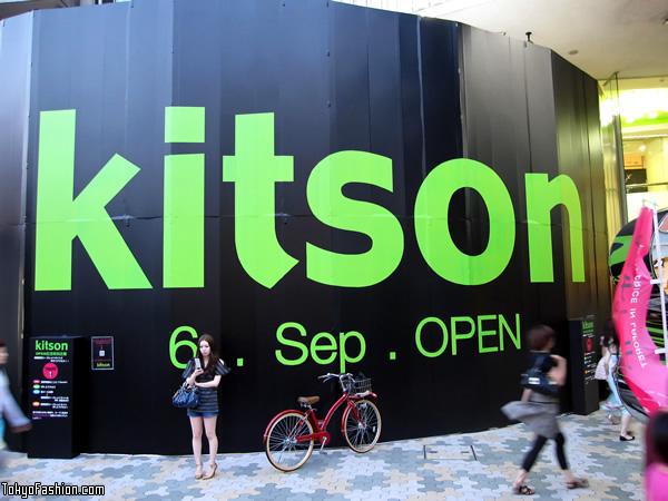 Kitson Harajuku at LaForet Opening Soon