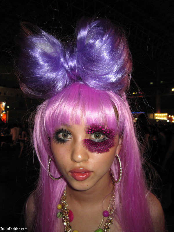 Purple Japanese Lady Gaga