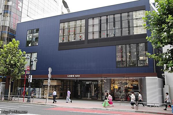 Lumine Man Comes to Shibuya