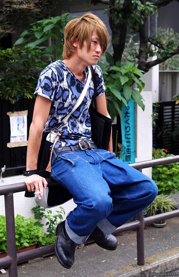 Smoking Japanese Guy