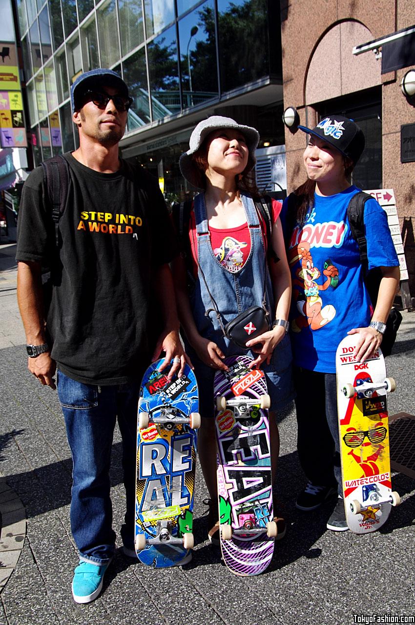 Shibuya Skaters Girls   Guy 703b15353