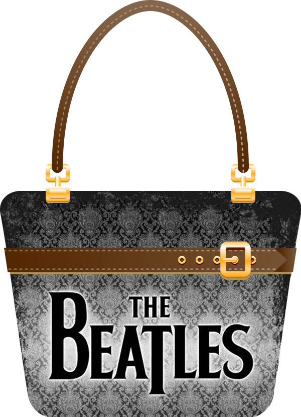 The Beatles on a Bag