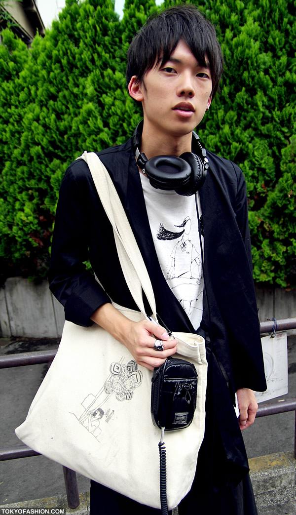 Mens Harajuku Bag