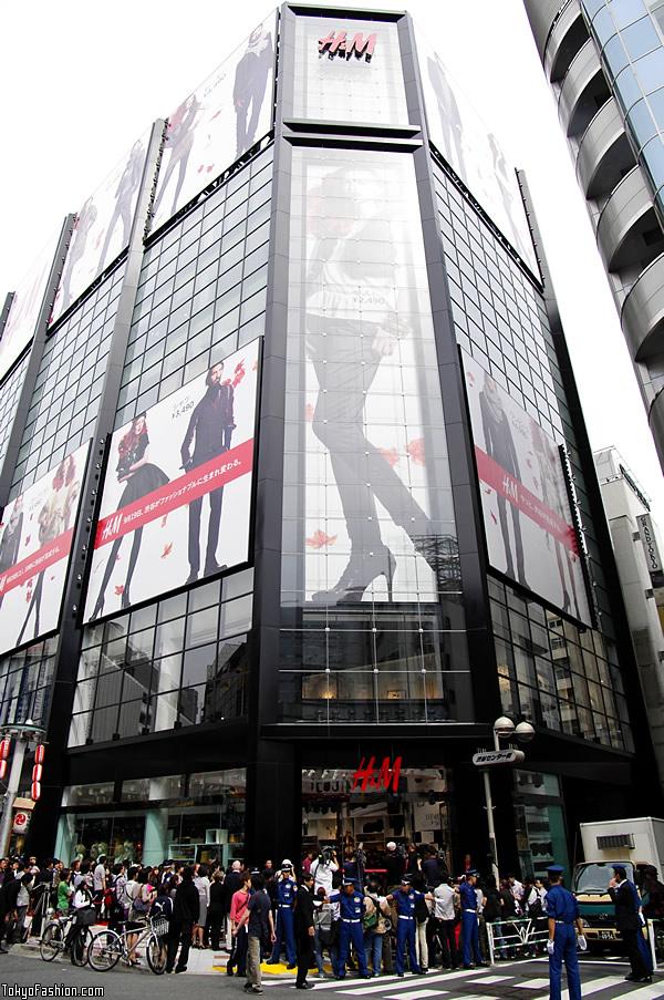 H&M Shibuya Building