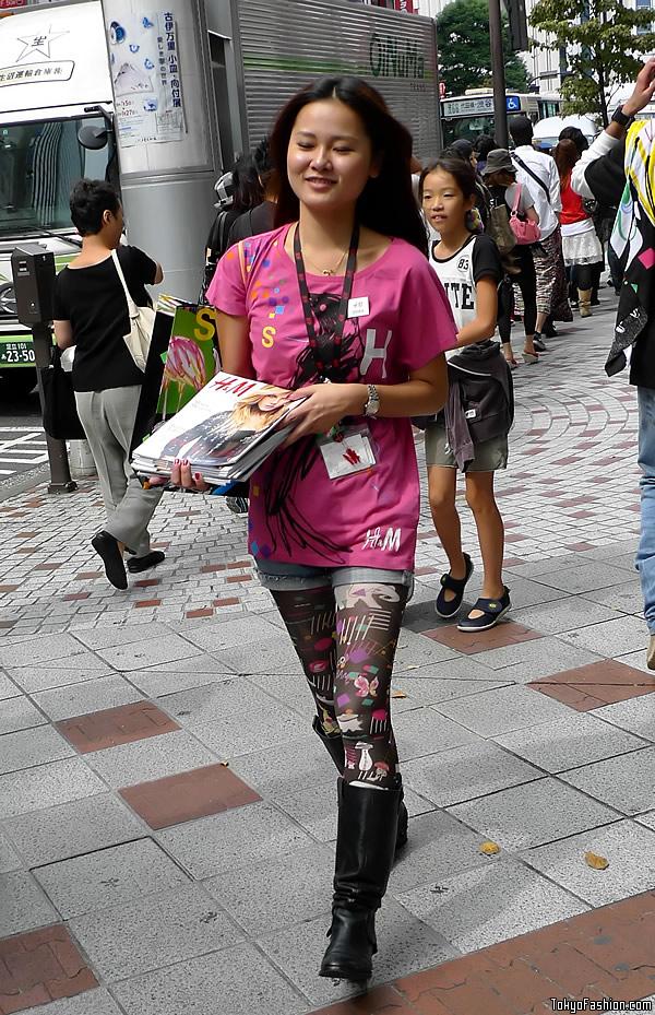 H&M Shibuya Opening Day Staff