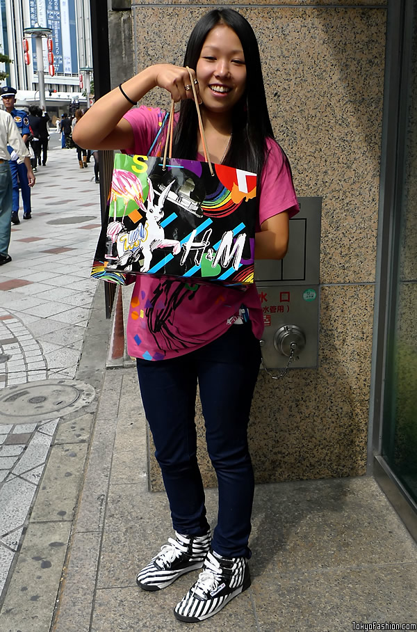 H&M Shibuya Opening Day Goodie Bags
