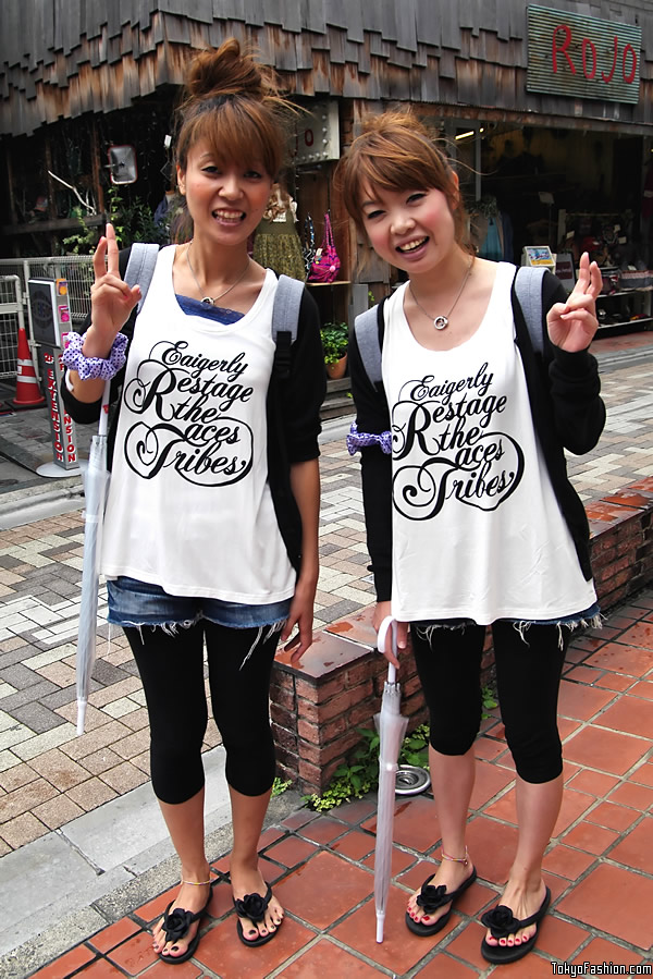 Harajuku Pair Look Girls