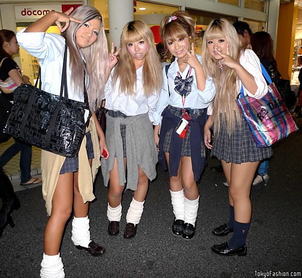 Harajuku Schoolgirls