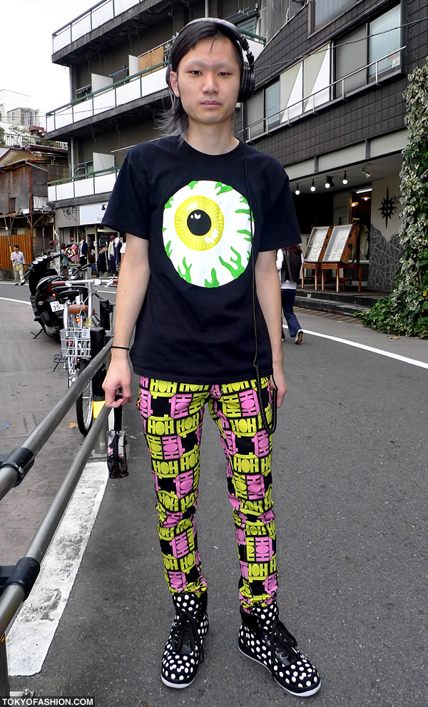 House of Holland Skinny Pants in Harajuku