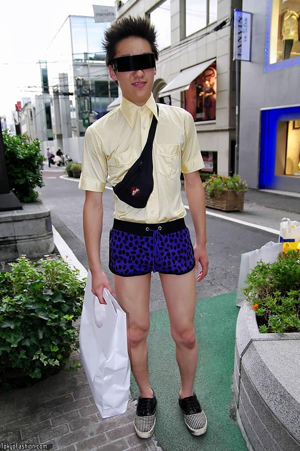 Factory Harajuku Fashion Guy