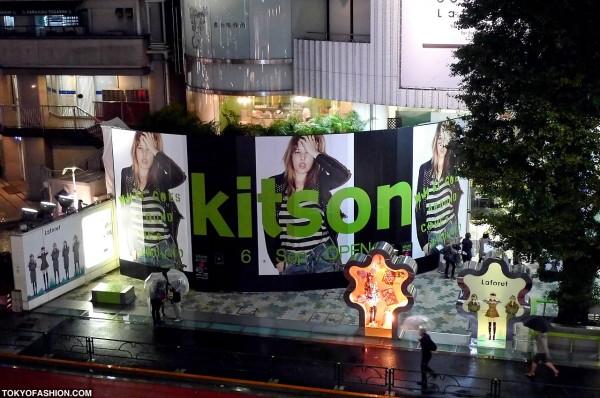 Kitson at LaForet Harajuku