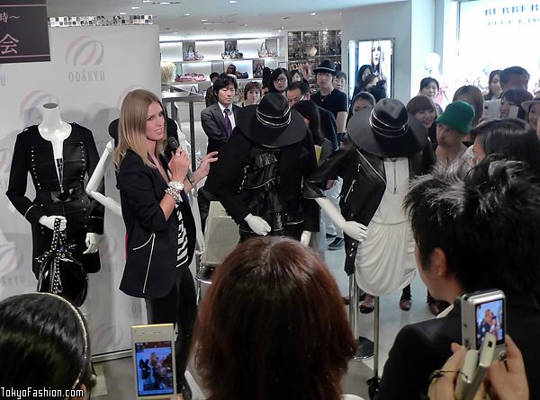 Nicky Hilton in Shinjuku