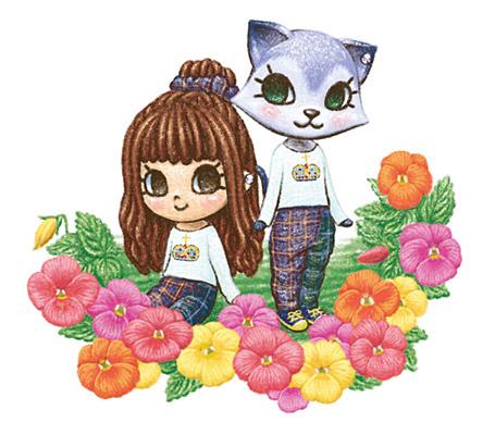 Cute Ninita Illustration