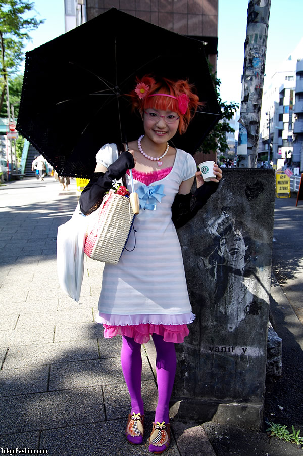 Cute Colorful Japanese Girl