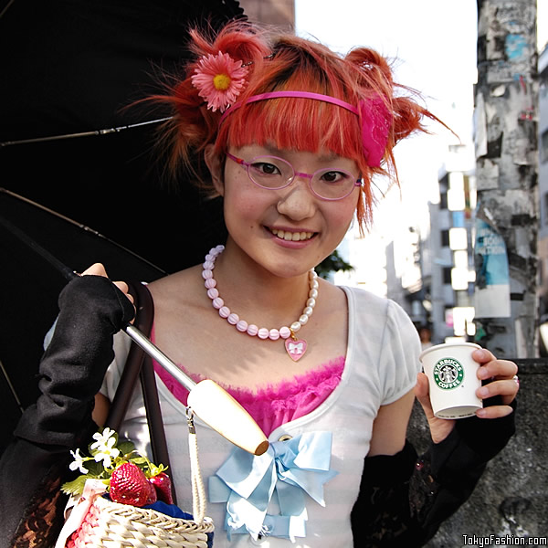 Red Hair Japanese Girl
