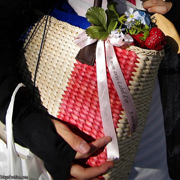Japanese Strawberry Bag
