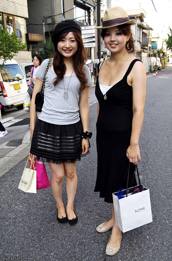 Beret vs. Fedora Girls in Harajuku