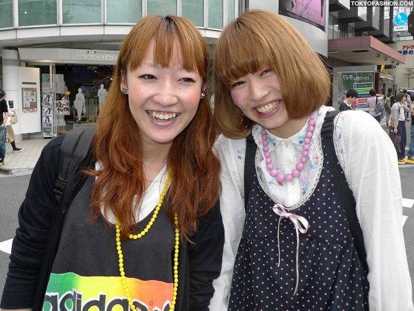Smiling Japanese Girls