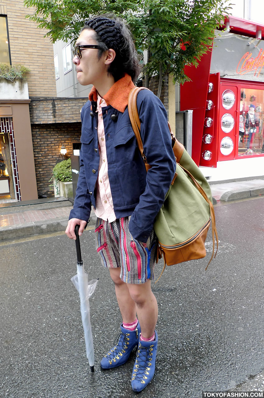 Japanese Guy In Heels Amp Shorts